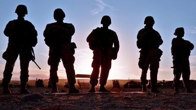 Soldats américains en Syrie