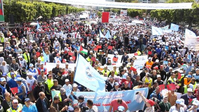 Manifestations syndicats