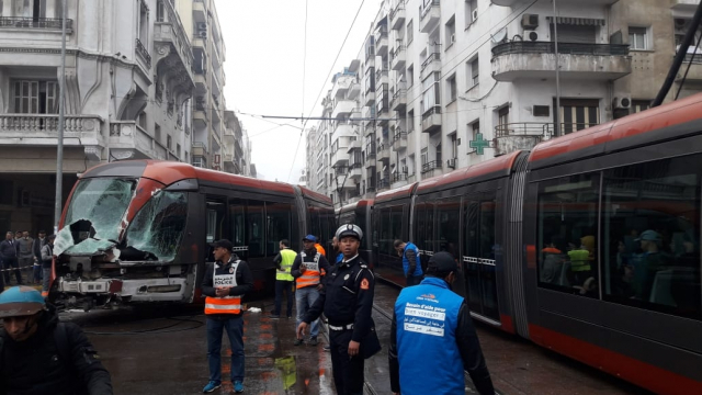 Accident Tram Casablanca4