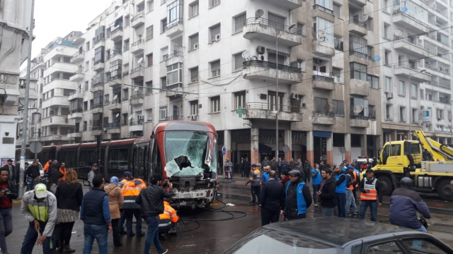 Accident Tram Casablanca5