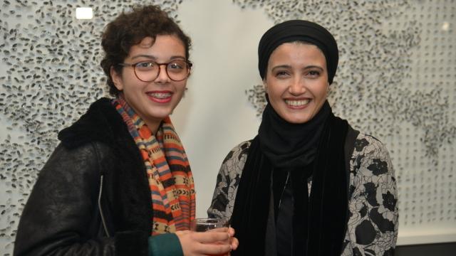 Safaa Erruas et sa fille