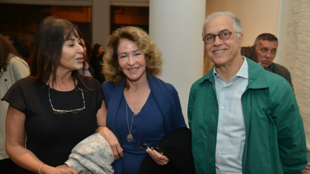 Siham Souiri, Assia Lazrak et Abderrahim Saher