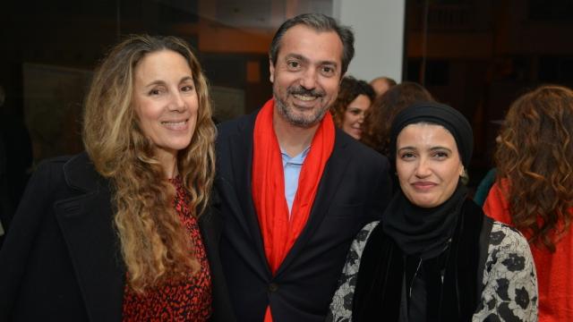 Meryem Sebti, Omar Yacoubi et Safaa Erruas