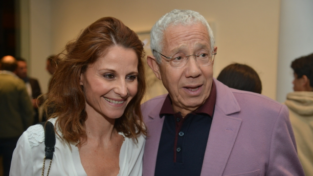 Caroline Saunier et Noureddine Ayouch