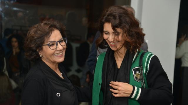 Rabia Ababou et Hind Benchekroun