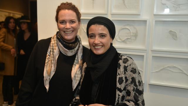 Jenny Trachen Holmes et Safaa Erruas