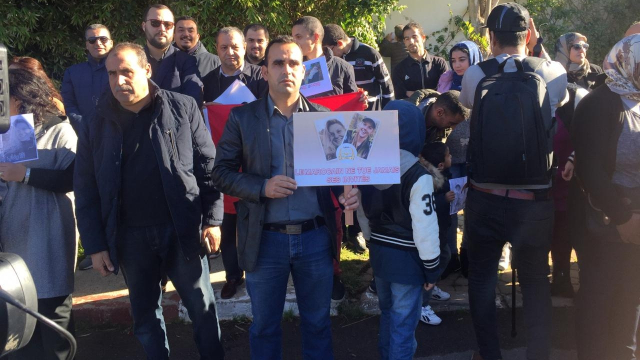 Assassinat de deux touristes scandinaves sit-in de solidarité10
