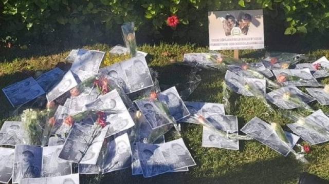 Assassinat de deux touristes scandinaves sit-in de solidarité1