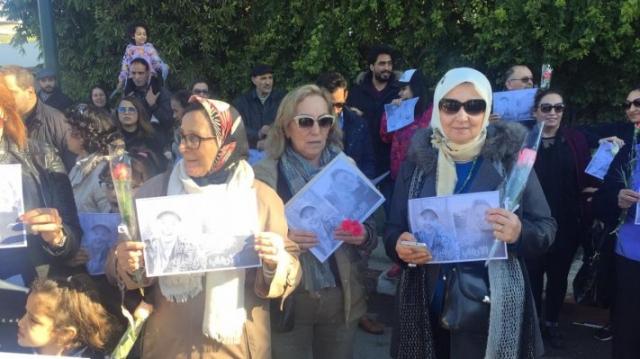 Assassinat de deux touristes scandinaves sit-in de solidarité2