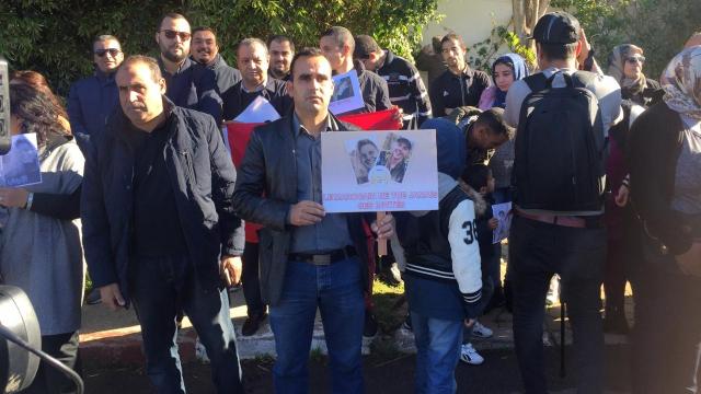 Assassinat de deux touristes scandinaves sit-in de solidarité8