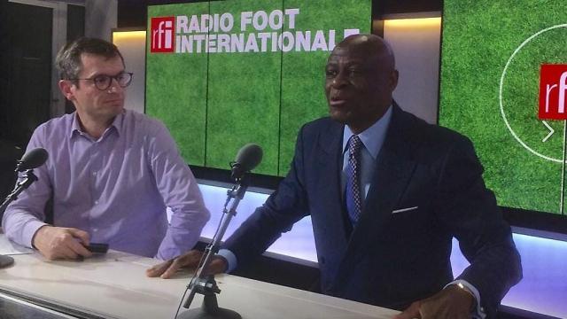 Constant Omari (CAF) chez RFI-Foot
