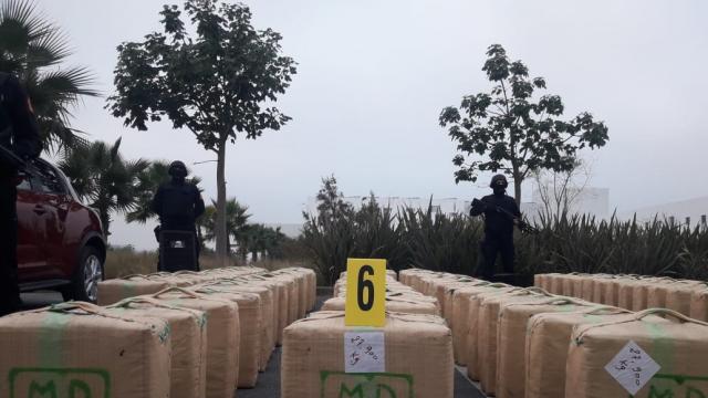 El Jadida saisie de 10 tonnes de résine de cannabis10