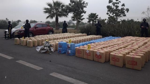 El Jadida saisie de 10 tonnes de résine de cannabis3