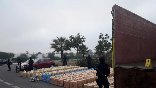El Jadida saisie de 10 tonnes de résine de cannabis5
