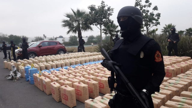 El Jadida saisie de 10 tonnes de résine de cannabis6