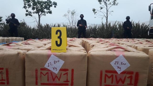 El Jadida saisie de 10 tonnes de résine de cannabis8