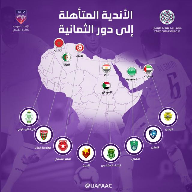 UAFA Carte du Maroc