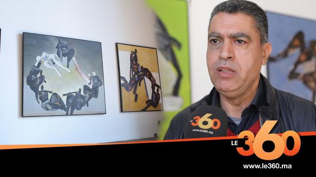Cover_Vidéo:Le360.ma • المعرض الثاني بالرباط في 2018 للفنان التشكيلي محمد قنيبو