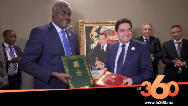 Cover Vidéo - Observatoire africain des migrations: signature d'un accord de siège entre le Maroc et l'Union africaine