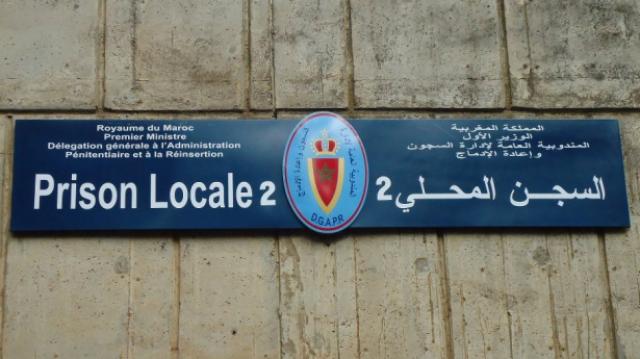 Prison locale de Salé