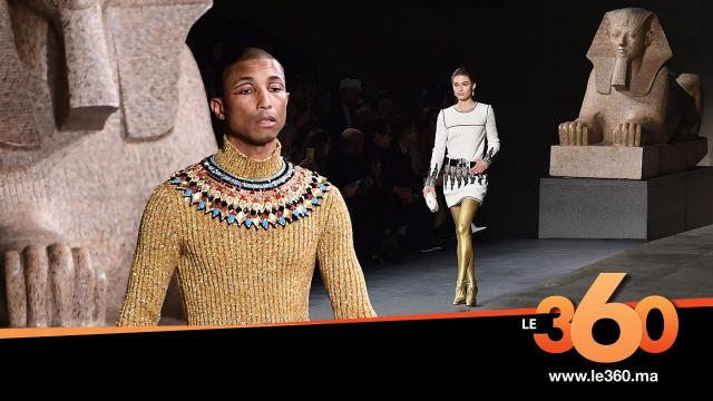 Cover l'Egypte antique vue par Chanel