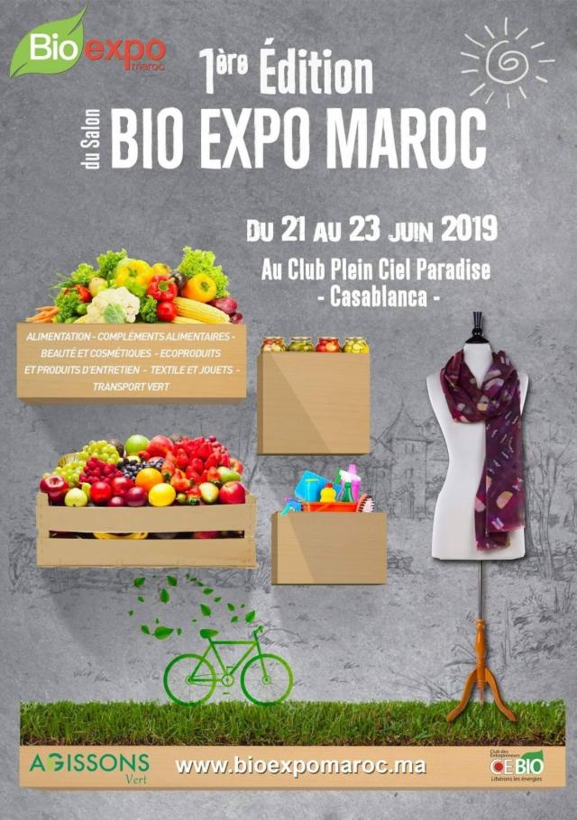 visuel complet Bio Expo Maroc