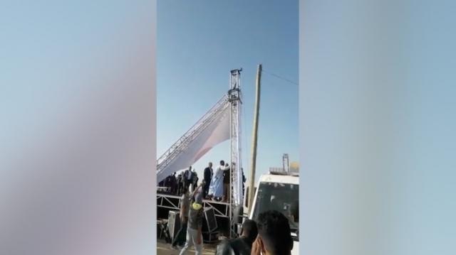 Mauritanie: «Marche contre l'extrémisme et la haine», la tribune d'honneur s'est effondrée