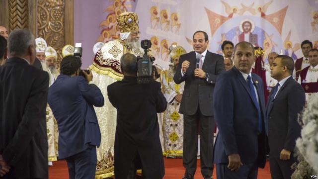 Egypte: Al Sissi inaugure la plus grande cathédrale copte du Moyen-Orient