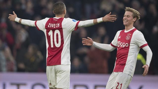 Ziyech et De Jong