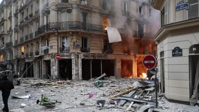 Explosion Paris