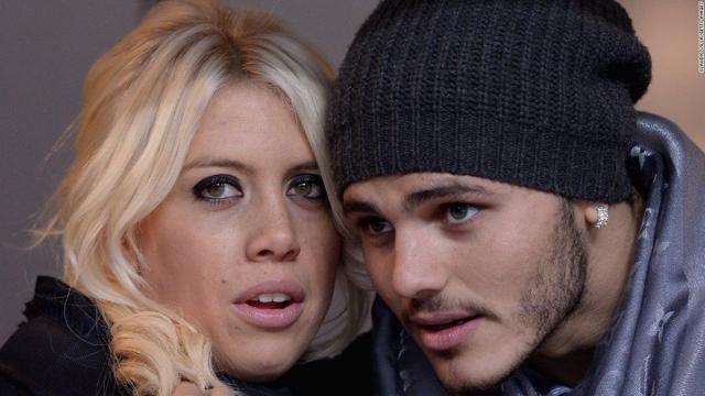 Icardi et son épouse