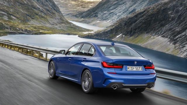 BMW Série 3 feux arrière