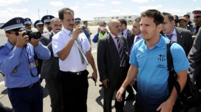 Messi à Tanger