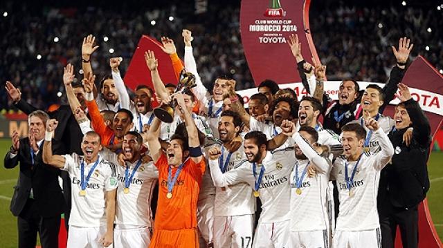 Le Real champion du Monde Maroc 2014