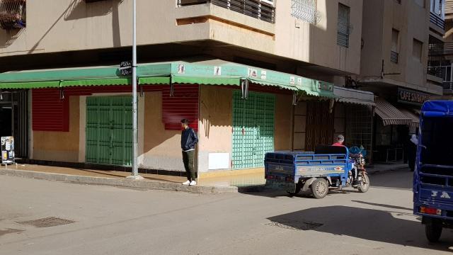 grève des commerçants tanger 2