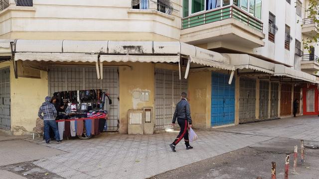 Grève des commerçants Tanger 3