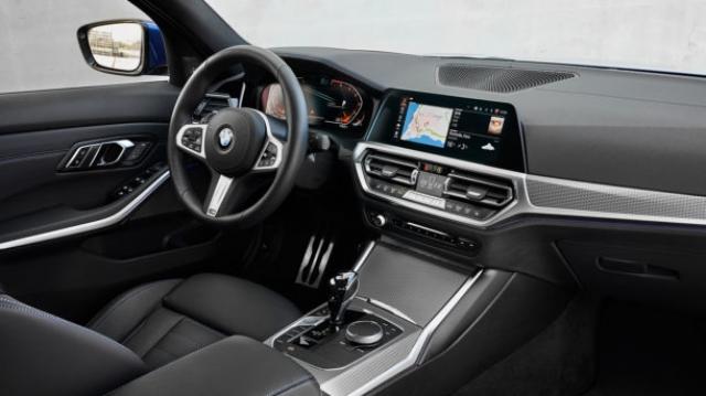 BMW Série 3 intérieur