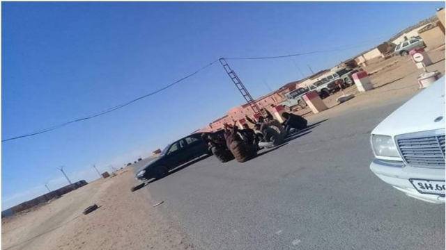 Manifestations à Tindouf