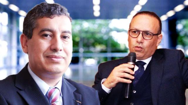 Abdelmajid Tazlaoui et Marouane Tarafa
