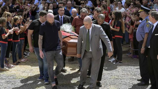 Obsèques Emiliano Sala