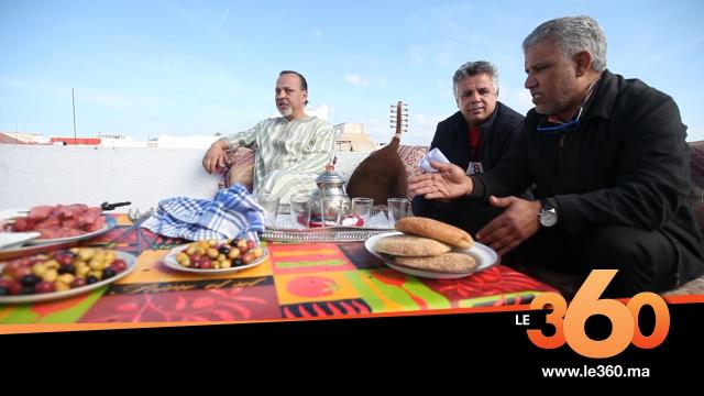 cover vidéo: Le360.ma •كواليس تصوير عمل تلفزيوني للفنان محمد عاطر