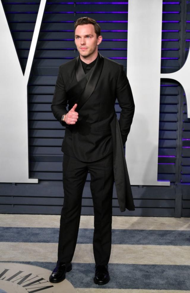 Nicholas Hoult en Dior Hommes