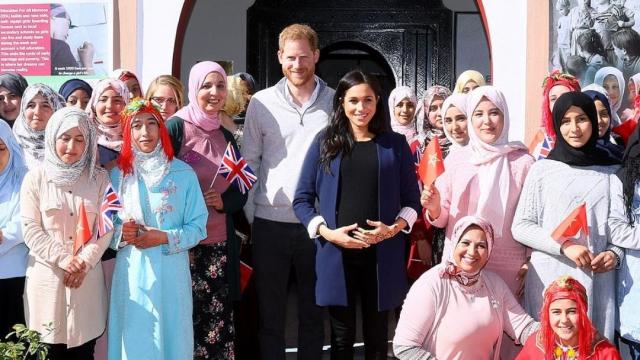 Prince Harry et Meghan Markle- région Marrakech2