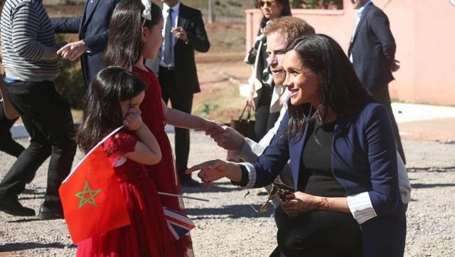 Prince Harry et Meghan Markle- région Marrakech4