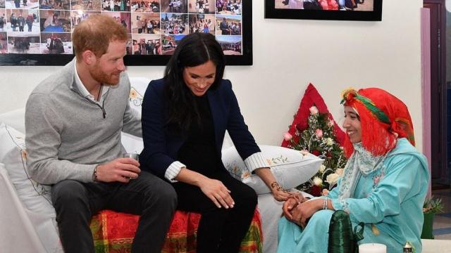 Prince Harry et Meghan Markle- région Marrakech7