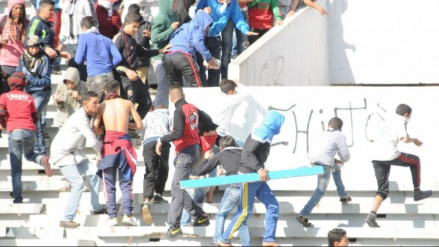 Hooligans à Tétouan