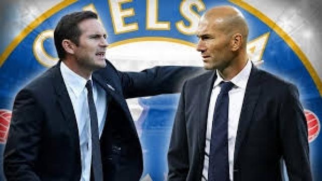 Lampard et Zidane