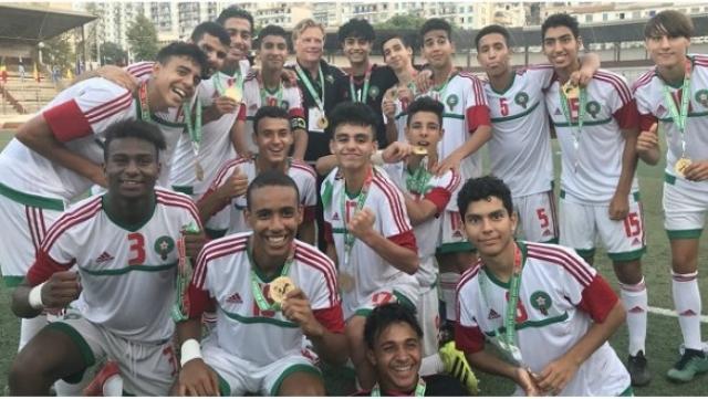 Maroc U15 Chadi Riad