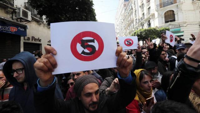 Manifestations Algérie contre le 5e mandat