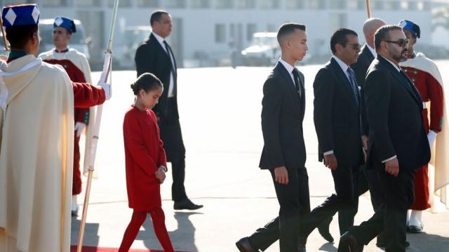 Mohammed VI et princes Moulay El Hassan et Lalla Khadija1
